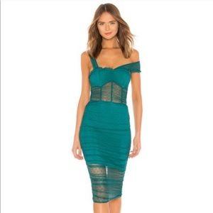 House of Harlow1960xREVOLVE Nola Dress Aquamarine